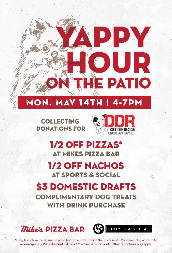 Yappy Hour on the Patio